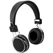 Auriculares táctiles con bluetooth personalizado negro intenso