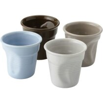 Set de 4 tazas de café xpress multicolor