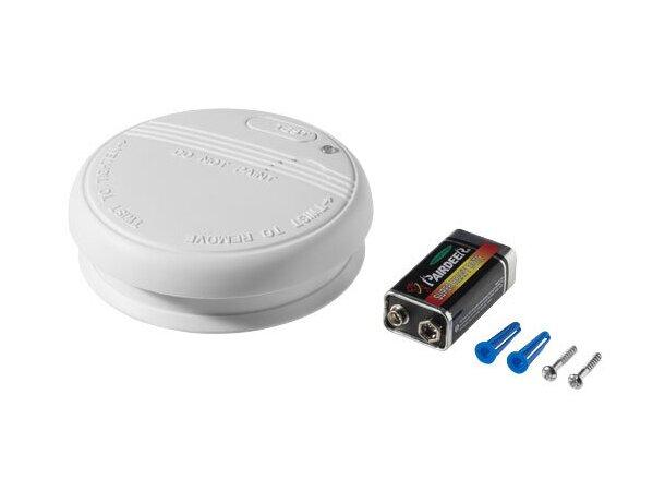 detector de humos con pilas personalizado blanco