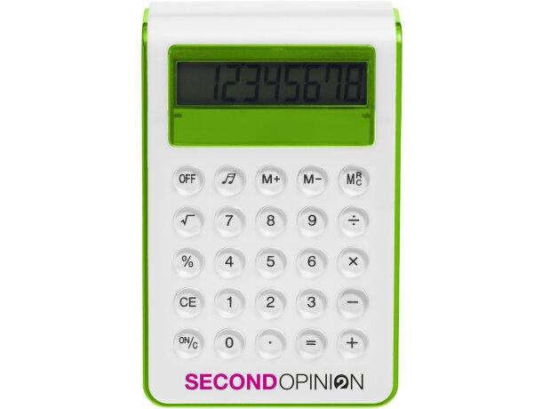 Calculadora con alzador personalizada