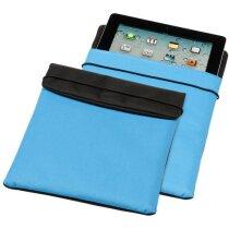Protector de tablet en poliester personalizado azul