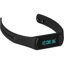 Reloj de actividad diseño moderno personalizado negro intenso