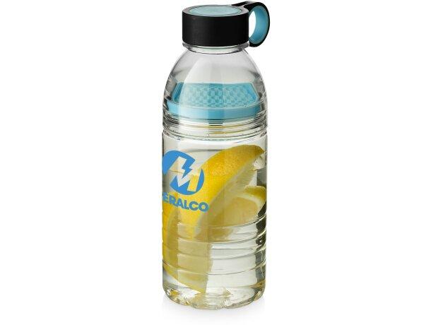 Botella deportiva con colador para fruta 600 ml personalizada