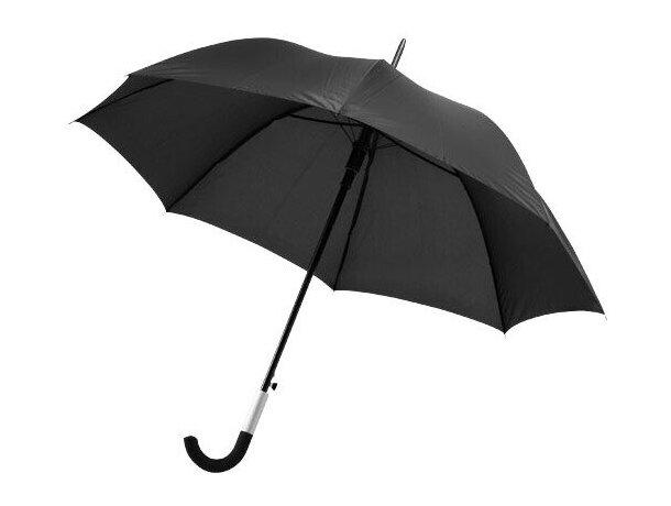 "Paraguas automático de 23"" personalizado negro intenso"
