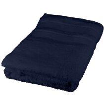 Toalla de algodón 50x70 cm personalizada azul marino