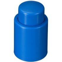 Tapón de vino de vacío personalizado azul