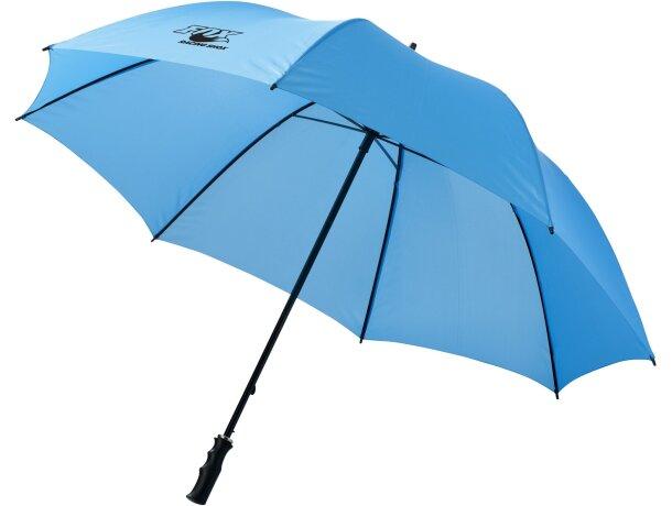 Paraguas de golf con varillas de metal
