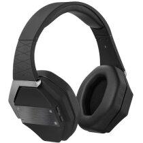 Auriculares inalámbricos de diseño exclusivo con bluetooth personalizado negro intenso