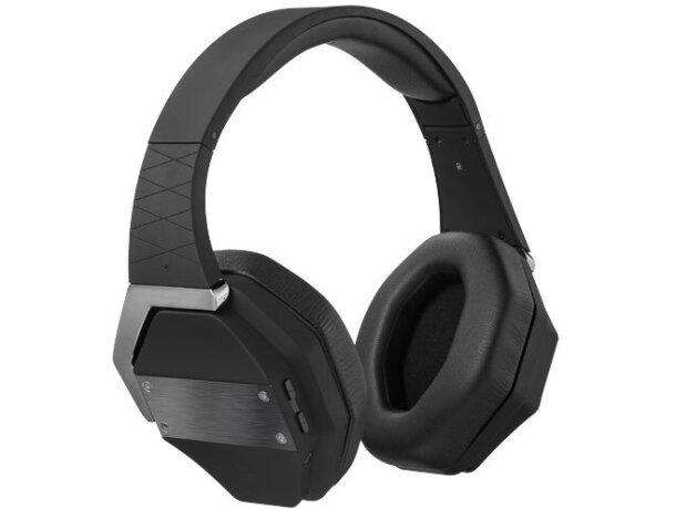 Auriculares inalámbricos negro intenso personalizada