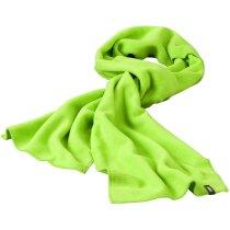Bufanda polar de colores personalizada verde