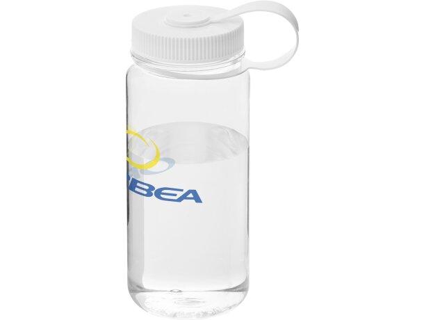 Botella sencilla de plástico con tapa rosca 650 ml personalizada