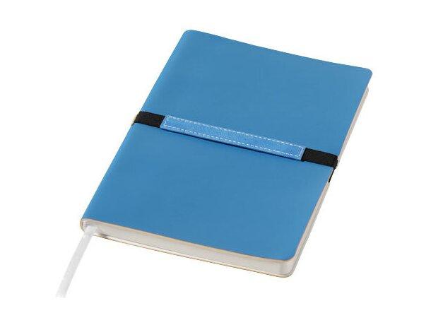 Bloc de notas tamaño A5 azul