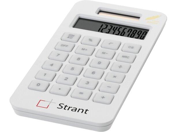 Calculadora de plástico reciclado personalizada