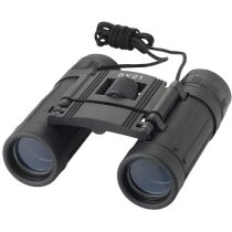 Prismáticos 8 x 21 con oculares elásticos personalizado negro intenso