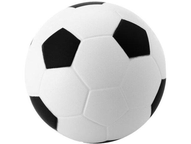 Antiestrés balón de fútbol blanco