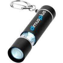 Llavero linterna con logo personalizada