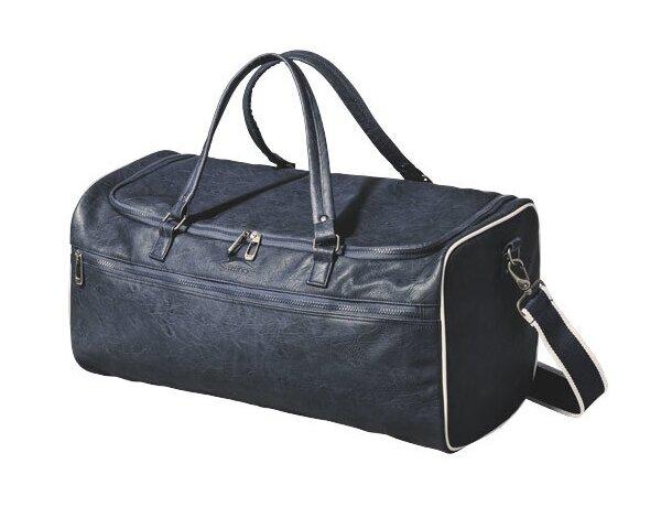 Bolsa de viaje elegante y clásica personalizada azul marino