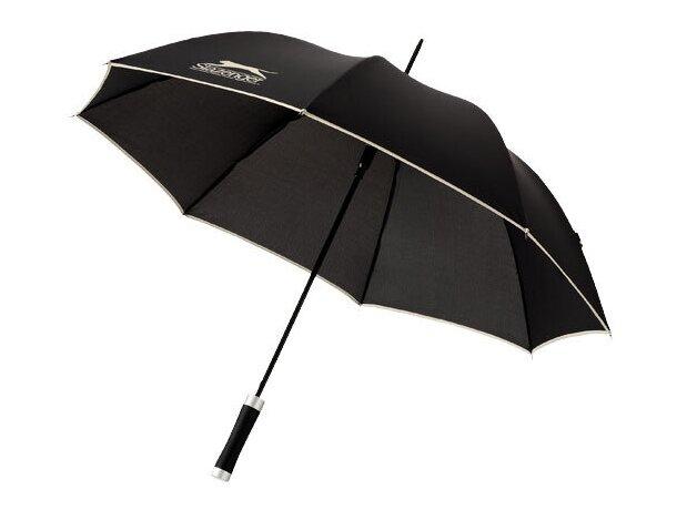 Paraguas diseño elegante automático barato negro intenso