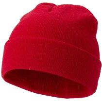 Gorro de punto en colores personalizado rojo