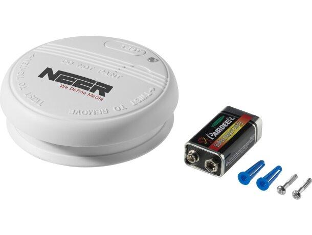 detector de humos con pilas