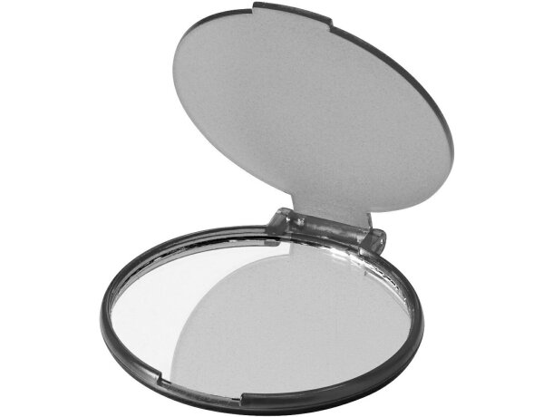 Espejo de bolsos personalizado negro transparente