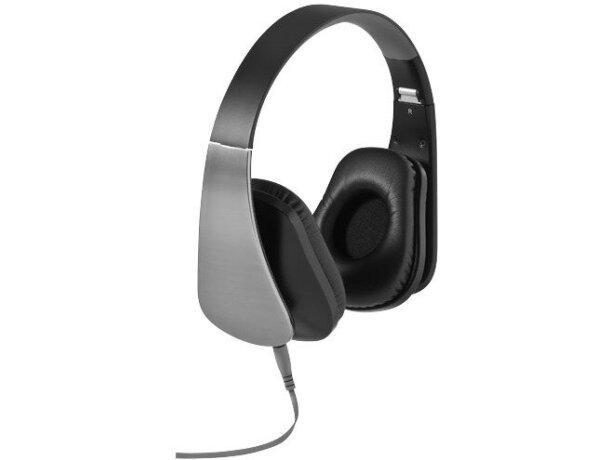 Auriculares plegables plata personalizado