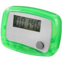 Podómetro con apagado automático barato verde