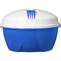 Set de ensaladera personalizado azul