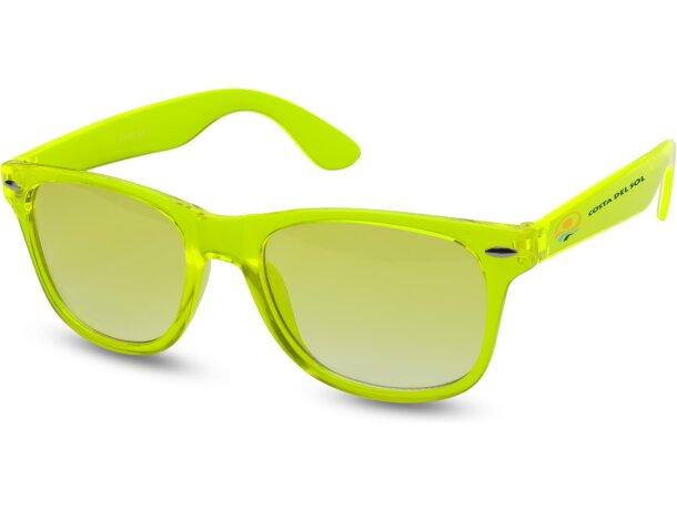 Gafas de sol con lentes de cristal personalizado