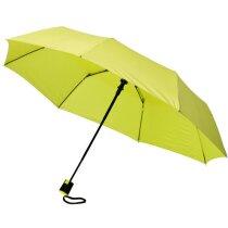 Paraguas con apertura automática verde claro