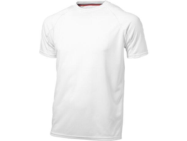"Camiseta de manga corta ""serve"" personalizada blanca"