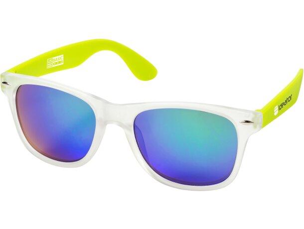 Gafas de sol barato de policarbonato uv 400 personalizada