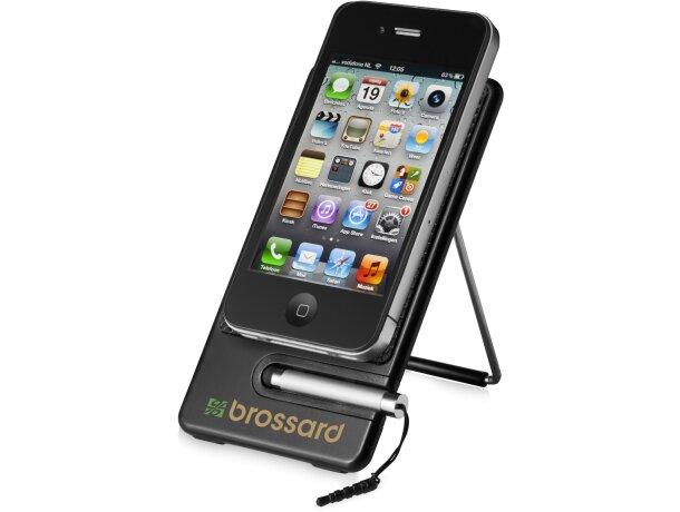 Soporte para smartphone con mini puntero