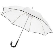 """Paraguas de 23"""" marca Balmain estilo clásico con logo"""