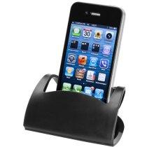 Soporte plegable para móvil personalizado negro intenso