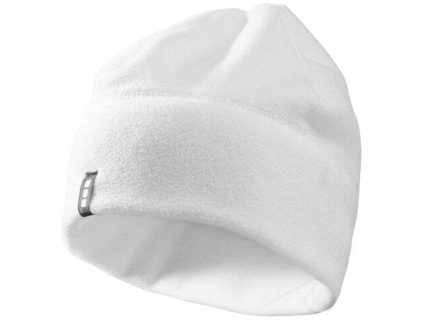 Gorro polar de 240 gr personalizado blanco