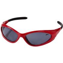 Gafas de sol barato ligeras y resistentes personalizada roja