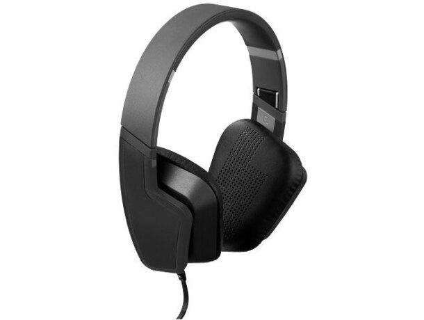 Auriculares minimalistas negro intenso