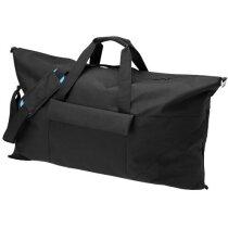 Bolsa de viaje color negro Marksman personalizada negro intenso