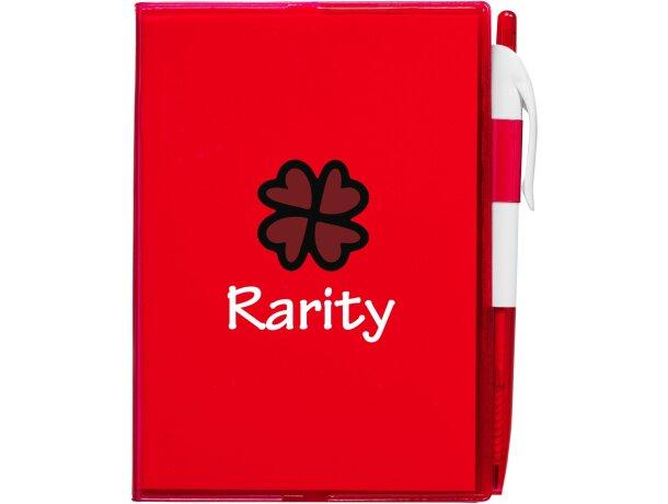 Cuaderno en tamaño A6 con bolígrafo barato
