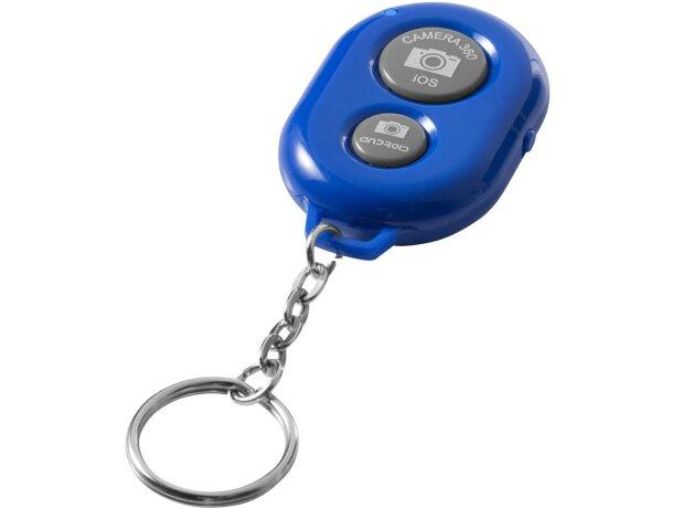 Llavero con dispado a distancia personalizado azul medio