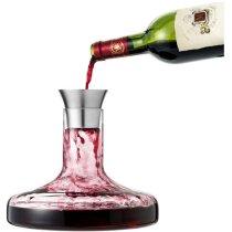 Set de vino con decantador y aireador personalizado transparente