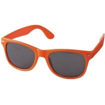 Gafas de sol estilo retro naranja personalizado