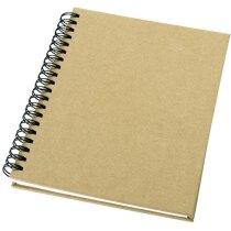 Libreta tamaño A6 en cartón ecológico