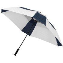 """Paraguas grande de 4 lados de 30"""" personalizado blanco"""