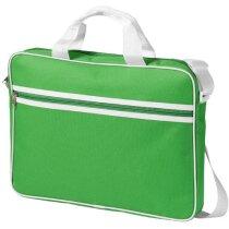 Bolsa para portátil estilo retro personalizada verde