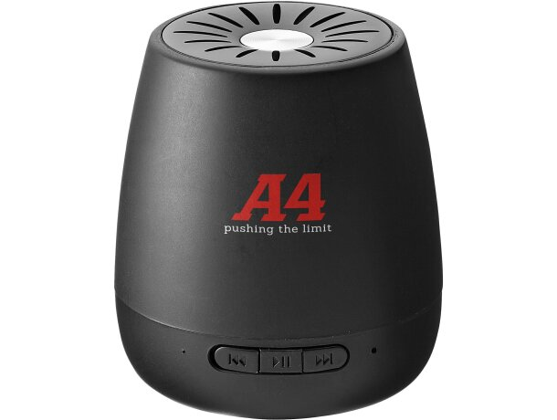 Altavoz portátil con micrófono con logo