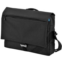Bolsa de congresos con espacio para portátil personalizada negro intenso