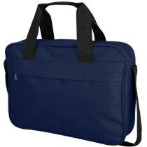 Bolsa de congresos con bolsillo frontal grande azul marino