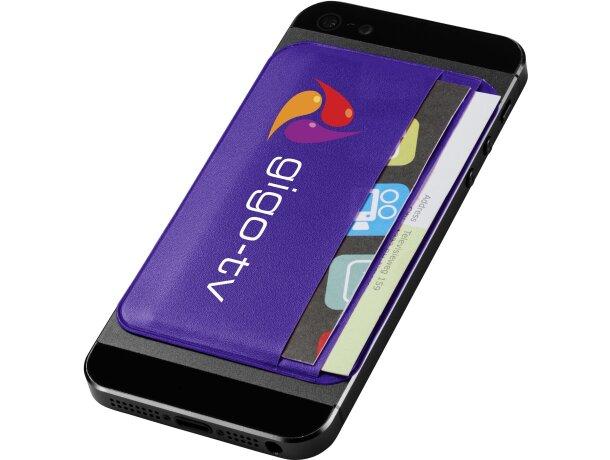 Portatarjetas ID en polipiel grabado